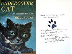 The Gordons Signed Undercover Cat 1st/1st Hc Very Rare