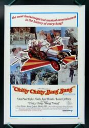 Chitty Chitty Bang Bang Cinemasterpieces Movie Poster Antique Car Auto Garage