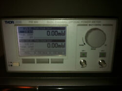 Thorlabs Pm300 Two Channel Benchtop Optical Power Meter