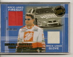 Tony Stewart 20 Memorabilia Cards Matching Serial Numbers 2002 Contest Win Set