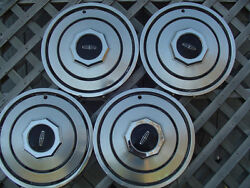 1980 88 Lincoln Mark Continental Premier Town Car Hubcaps Wheel Covers