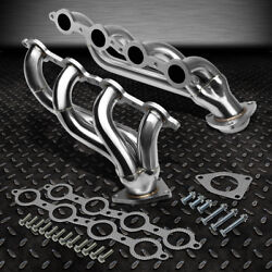 For 02-16 Chevy Silverado 1500 2500hd 3500hd Stainless Exhaust Header Manifold