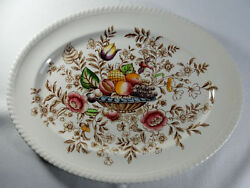 Johnson Brothers Pomona Old English 14 Inch Oval Platter