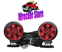 Magnetic Led Tow Lights - Wrecker Tow Truck Car Transport - Professional Grade