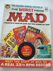Vintage Mad Magazine The Worst From Mad October 1957 To July 1958 2nd Annual Ed