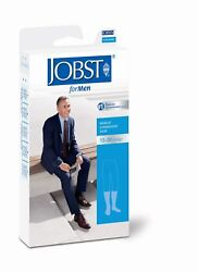 Jobst Formen Mens Compression Knee Socks 15-20 Mmhg Supports Therapeutic Therapy