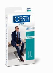 Jobst Formen Mens Compression Knee Socks 20-30 Mmhg Supports Therapeutic Therapy