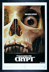Tales From The Crypt Cinemasterpieces Horror Scary Skull Movie Poster 1972