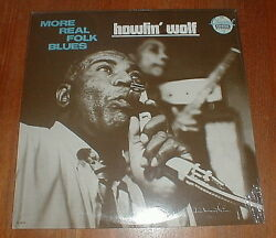 Howlin' Wolf 1988 More Real Folk Blues Lp Sealed Nm-