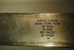 Cornell Dubilier Radio Noise Filter - Nf-10434 - 25a Vintage Wwii Jeep