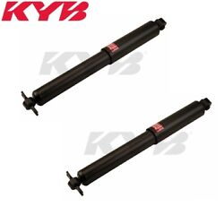 Fits Land Rover Discovery V8 Set Of 2 Front Shock Absorbers Kyb Excel-g 345036
