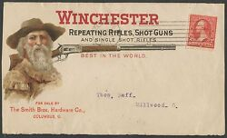 252 On Winchester Repeating Rifles Shotguns Advertising Cover Bp4311