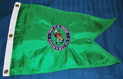 1999 U.s. Open Golf Flag Excellent Condition Green Embroidered Very Rare