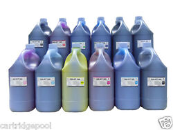 12 Gallon Pigment Ink For Canon Wide-format Printer Ipf8000 Ipf8100 Ipf9000 9100