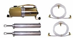 1965-1970 Oldsmobile Delta Delmont 88 98 Convertible Top Pump Cylinders And Hoses
