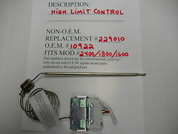 High Limit Control Fits Broaster Pressure Fryer,henny Penny,pitco 1800/1600/2400