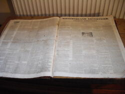 Westmorland Advertiser And Kendal Chronicle 1818-1819 William Wordsworth Letters