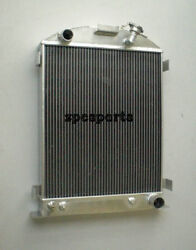 1939-1940 New Radiator Chevy-engine Ford-grill-shells 3 Row 39-40 Stock Height