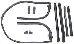 1967 Ford Fairlane 500 Xl Gt Convertible Top Roof Rail Weatherstrip Seal Set
