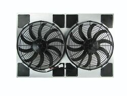 Dual Spal Electric Fan And Shroud Assembly W/ Air Baffles [50-187282-13shp]