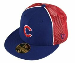Chicago Cubs Fitted 59Fifty MLB Baseball Trucker Hat Cap by New Era $12.95