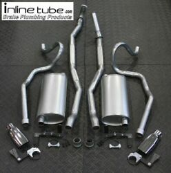 70 71 72 Chevelle Ss 396 Big Block Exhaust System Tips Muffler Hangers Tail Pipe