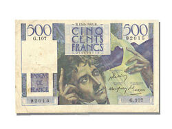 [10129] France 500 Francs 500 F 1945-1953 And039and039chateaubriandand039and039 1948 Km