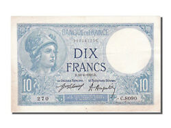 [100678] France 10 Francs 10 F 1916-1942 And039and039minerveand039and039 1921 Km 73b
