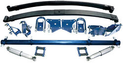 Tci 1937 To 1939 Chevrolet 1/2 Ton Pickup Leaf Spring Rear Suspension