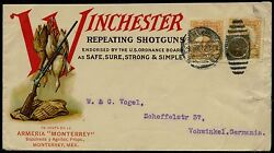 Winchester Repeating Shotguns Cover Used Monterey Mexico - Rare Bq2077