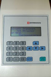 Shimadzu Temperature Controller Thermocouple 12-cell Transport Chromatography