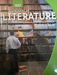 Elements Of Literature And Warriners Handbook Grade 12 Sixth Course By Leila...