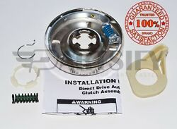 New 8299642 Complete Washer Clutch Assembly Kit Fits Whirlpool Roper Kenmore