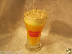Miller High Life Beer Glass Vintage Candle Milwaukee Wi