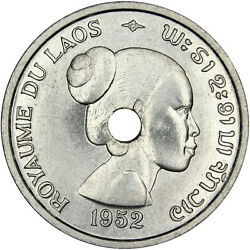 French Colonial Coins Laos 10 Cents Essai