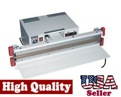24 Vacuum Sealer 5mm With Double Nozzle Double Impulse To Seal Thick Vacuum Bag