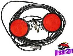 Magnetic Tow Lights - Wrecker Tow Truck Car Hauler - For Professional Operators