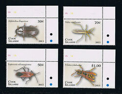 Cook Islands Entomology Andndash Insects Postage Stamp Issue