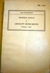 Aviation Instruments Technical Manual