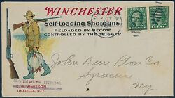 Winchester Self-loading Shotguns Multicolor Advt Cover Xf And Choice Hv6395
