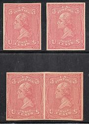 #779-E23L ALL OVER GRILL PAIR & (2) SINGLES -- EXTREMELY RARE -- WL4566
