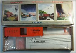 Walthers 932-4709 Ho Scale 50' Waffle Side Box Car Denver And Rio Grande Nos64149