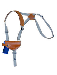 NEW Barsony Tan Leather Shoulder Holster for Kel-Tec Taurus Small 380 Ultra-Comp