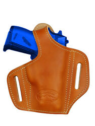 NEW Barsony Tan Leather Pancake Gun Holster Kel-Tec Ruger Kahr Mini 22 25 380