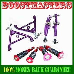 Fits 89-94 240sx S13 Camber Kits And Adj Damper Coilover Suspension Kits Emusa