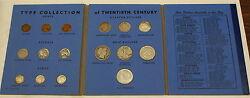 Type Collection Of 20th Century United States Coins 1957 Year Set 1909 Vdb