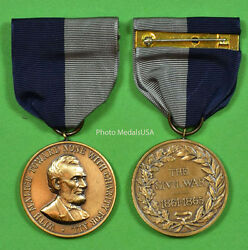 Army Civil War Campaign Medal - Usa Army - Ring Top - Made In The Usa