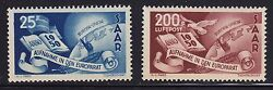 Saar Scott 226 And C12 Set Vf Never Hinged Nice Color Cv 213 See Pic