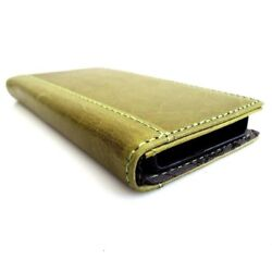 Genuine Vintage Leather Case For Iphone 5 S Cover Book Wallet 5s Cards Retro Il