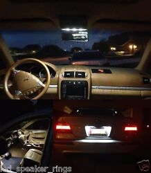12pc Led Interior Lights Kit For Mercedes Benz W163 M-class + License Plate